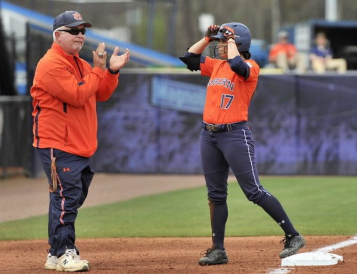 The difference a coach can make… Auburn softball