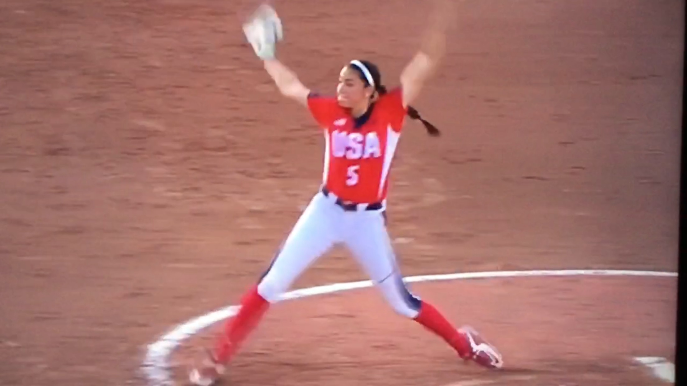 Danielle O'Toole, softball pitcher for USA