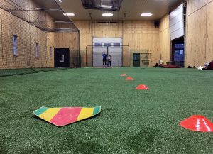 indoor softball pitching instruction lessons facility