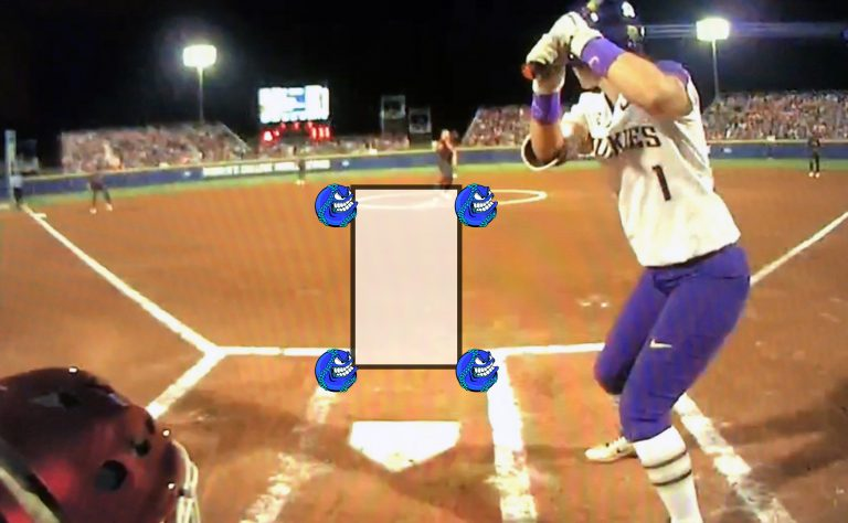 softball fastpitch strike zone k